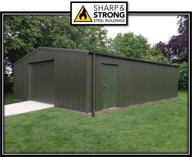 garage building green