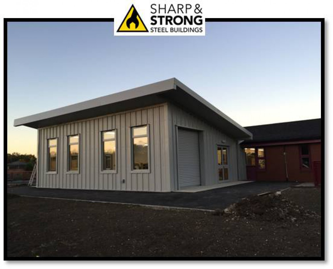 3 Tips On Making Your New Steel Building Look Better