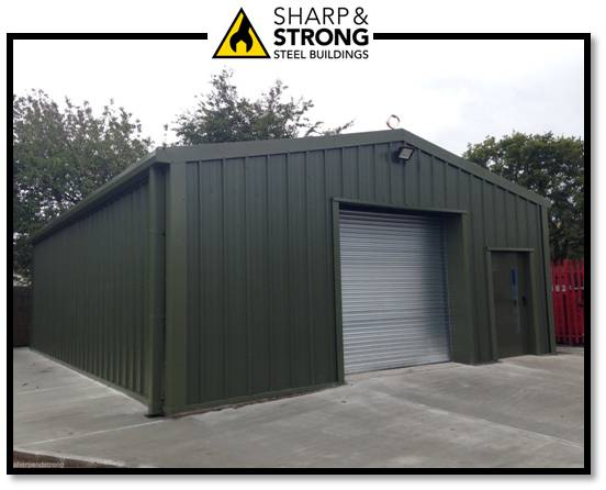 Steel Frame Building Cladding Sharp And Strong Steel