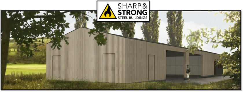 Example of Steel Framed Building for Golf Course